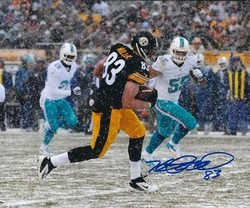 The best Tight End in Steelers History Heath Miller