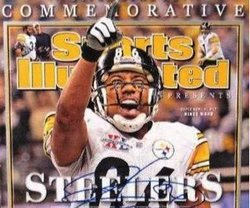 Super Bowl 40 MVP Hines Ward Commemorative Sports Illustrated Cover