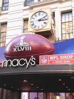 Macys Herald Sqaure - Super Bowl 48