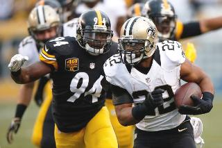 Steelers Defense gave up five touchdowns to Drew Brees of the New Orleans Saints