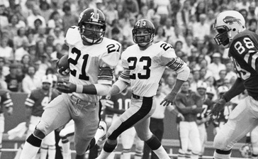 Tony Dungy had nine interceptions during his two year career with the Pittsburgh Steelers