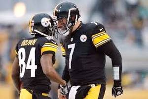 Big Ben and Antonio Brown takes on the New England Patriots to start the 2015 NFL Season