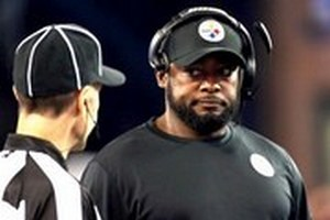 Can you hear me now says Steelers Coach Mike Tomlin